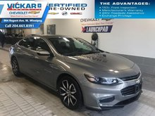 2018 Chevrolet Malibu LT  NAVIGATION, SUNROOF, BOSE AUDIO   - $158 B/W
