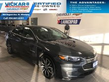 2018 Chevrolet Malibu LT  LEATHER HEATED SEATS, NAVIGATION, SUNROOF, BOSE  - $157.34 B/W