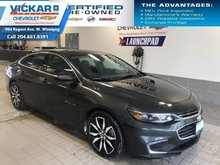 2018 Chevrolet Malibu LT  NAVIGATION, BOSE AUDIO, SUNROOF  - $195 B/W
