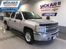2012 Chevrolet Silverado 1500 CREW CAB ,4X4, 4.8L V8, AIR CONDITIONING      - $189 B/W