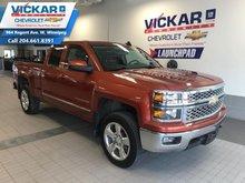2015 Chevrolet Silverado 1500 DOUBLE CAB LT, V8, 4X4, BLUETOOTH  - $229.08 B/W