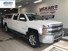 2015 Chevrolet Silverado 2500HD LT CREWCAB,UPGRADED 20'' RIMS AND TIRES, LONG BOX WITH CAP, 4X4, 6.6L DIESEL  - $390.62 B/W