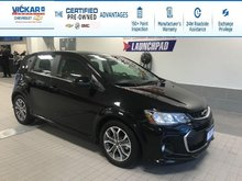 2018 Chevrolet Sonic LT R/S TURBO, HEATED SEATS, SUNROOF  - $120.42 B/W