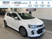 2018 Chevrolet Sonic LT R/S TURBO, HEATED SEATS, SUNROOF  - $120.43 B/W