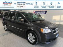 2017 Dodge Grand Caravan Crew STOW N GO, LEATHER SEATS, POWER REAR DOORS AND HATCH  - $152.06 B/W
