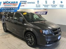 2017 Dodge Grand Caravan GT FRONT AND REAR HEATED SEATS, STOW N GO!!!  - $184.36 B/W