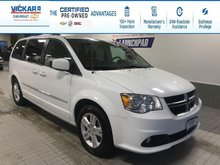 2017 Dodge Grand Caravan Crew STOW N GO, LEATHER SEATS, POWER REAR DOORS AND HATCH  - $156.09 B/W