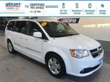 2017 Dodge Grand Caravan 2017 DODGE GRAND CARAVAN CREW STOW N GO, LEATHER SEATS, POWER REAR DOORS AND HATCH  - $147.34 B/W