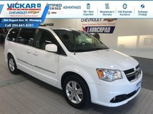 2017 Dodge Grand Caravan 2017 CARAVAN CREW STOW N GO, LEATHER SEATS, POWER REAR DOORS AND HATCH  - $150.71 B/W
