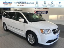 2017 Dodge Grand Caravan 2017 CARAVAN CREW STOW N GO, LEATHER SEATS, POWER REAR DOORS AND HATCH  - $154.08 B/W