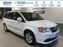 2017 Dodge Grand Caravan Crew STOW N GO, LEATHER SEATS,POWER REAR DOORS AND HATCH  - $160.82 B/W