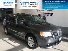 2017 Dodge Grand Caravan Crew  STOW N GO, LEATHER SEATS, POWER LIFT GATE AND DOORS  - $174.28 B/W