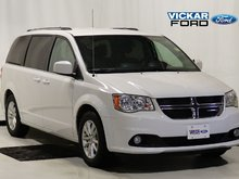 2018 Dodge Grand Caravan SXT Premium Plus with DVD & Navigation