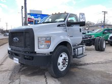 New 2019 Ford Super Duty F-750 Straight Frame Oxford White for sale