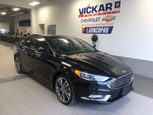 2017 Ford Fusion Titanium  - Leather Seats -  Bluetooth - $141 B/W