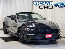 2018 Ford Mustang Convertible GT Premium 5.0L V8 Black Pack