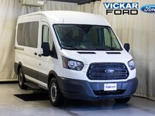 2017 Ford Transit 150 Wagon XL - 130 WB - Medium Roof - Sliding Pass.side Carg