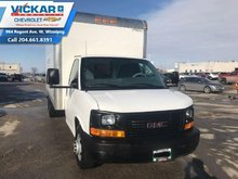 2014 GMC Savana Commercial Cutaway 16FT.  W/ RAMP AND STEP BUMPER, CAB ACCESS DOOR  - $206 B/W