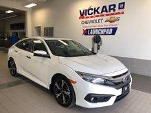 2016 Honda Civic Sedan Touring  - $191 B/W