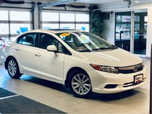 2012 Honda Civic EX-L - NAVI *local trade*clean history*