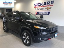 2018 Jeep Cherokee Trailhawk   AWD, SUNROOF, LEATHER COOLED/HEATED SEATS,   - $241.65 B/W