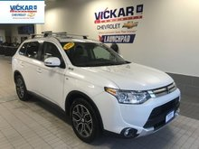 2015 Mitsubishi Outlander GT   AWD, ADAPTIVE CRUISE CONTROL, LEATHER SEATS,   - $171.34 B/W