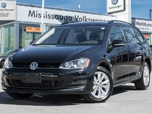 2017 Volkswagen GOLF SPORTWAGEN 1.8 TSI Trendline/ LOW KMS/CPO rates from 0.9%!!