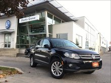 2012 Volkswagen Tiguan COMFORTLINE..CONNECTIVITY PKG.PANORAMIC SUNROOF
