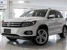 2014 Volkswagen Tiguan Highline/R-line/Technology package