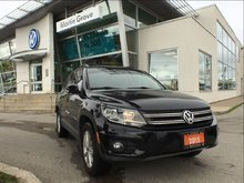 2015 Volkswagen Tiguan Comfortline - ONE OWNER! SUPER CLEAN! MUST SEE!