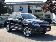 2015 Volkswagen Tiguan Highline with R-Line + Tech-Package