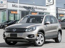 2015 Volkswagen Tiguan Comfortline/PANO ROOF/LOW LOW KMS
