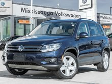 2016 Volkswagen Tiguan Comfortline/PANO ROOF/BACK UP CAM
