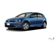 Volkswagen Golf 5-Dr 1.8T Comfortline 6sp at w/Tip 2018