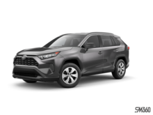 2019 Toyota RAV4 FWD LE WITH BOOKS