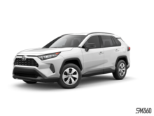 2019 Toyota RAV4 LE FWD WITH BOOKS