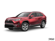 2019 Toyota RAV4 FWD XLE WITH BOOKS
