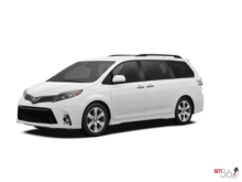 2019 Toyota SIENNA SE V6 8-PASS 8A WITH BOOKS