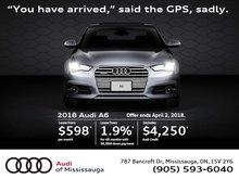 2018 Audi A6 Promotion