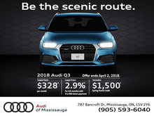 2018 Audi Q3 Special Offer