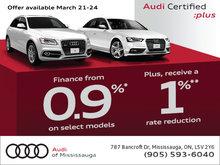 Audi Certified :plus Sales Event