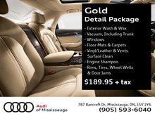 Gold Detail Package