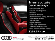 Immaculate Detail Package
