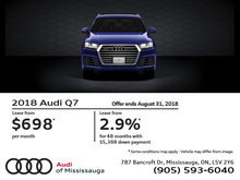 Audi Q7: Summer of Audi Sales Event