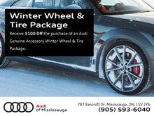 $100 Off Audi Genuine Winter Wheel & Tire Packages