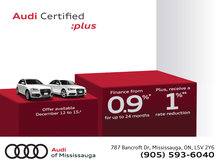 Audi Certified :plus December Sales Event