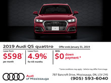 2019 Audi Q5 - January Special Offers
