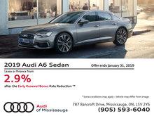 2019 Audi A6 Sedan - Early Renewal Bonus