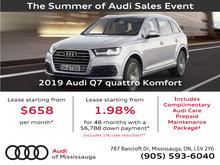 Summer of Audi Sales Event   2019 Audi Q7