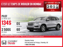 Honda Pilot 2017 en location